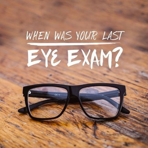 Annual Eye Examinations by end of year