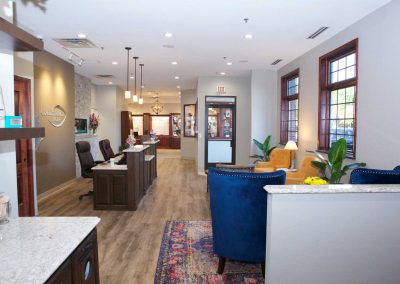 Complete Family Eyecare Office Interior Prior Lake Minnesota