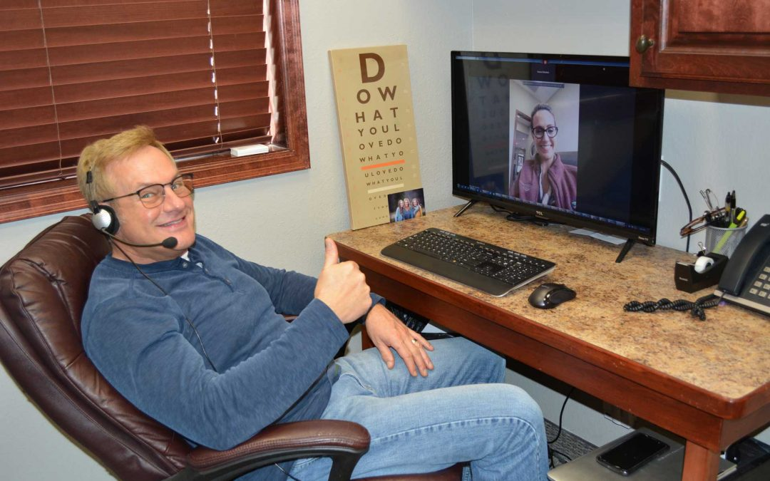 Remote Virtual Visits with Dr. Steve Available